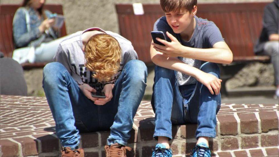 twee tienerjongens